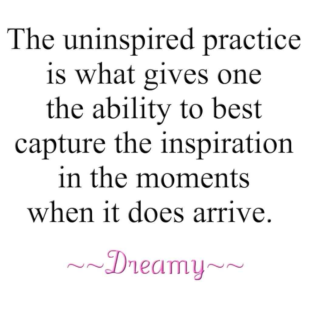 uninspired writing quote